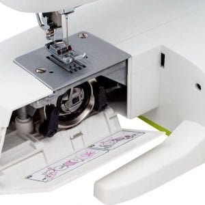 מכונת תפירה למתחילים נצ'י Necchi 2417 עם 17 סוגי תפרים, חלק פנימי מתכתי, דגם חדש,