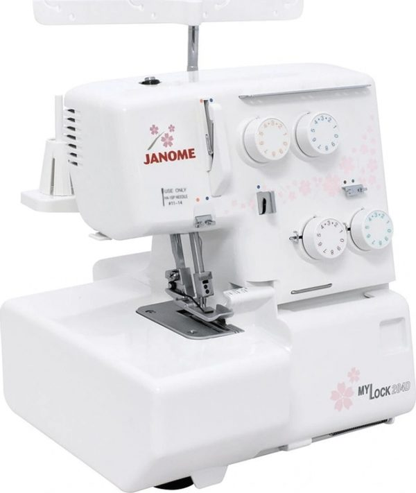 204D Janome מכונת אוברלוק יונומה