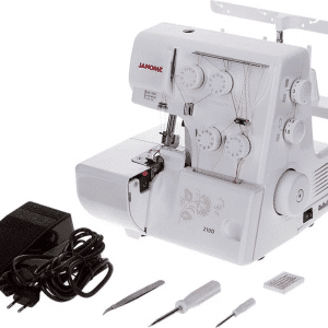 210D Janome מכונת אוברלוק יונומה