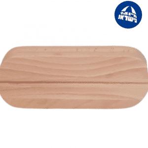 אמום מגהץ עץ עם חריץ לרוכסן