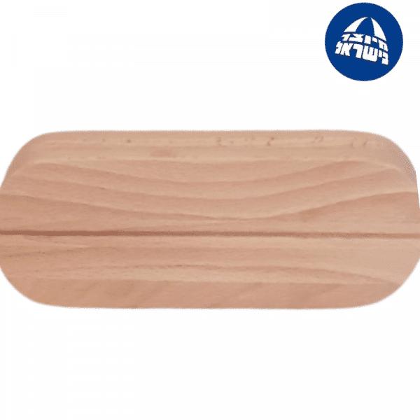 מגהץ עץ עם חריץ לרוכסן