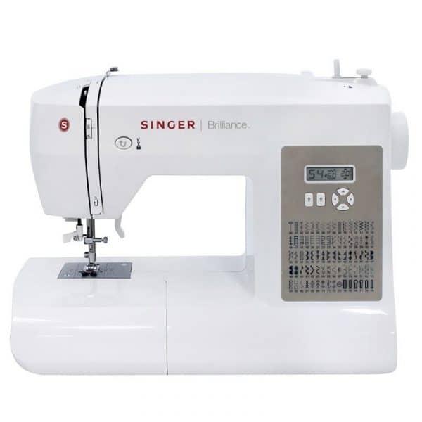 _מכונת תפירה אלקטרונית Singer Brilliance 6180 עם 80 סוגי תפרים, עם שולחן